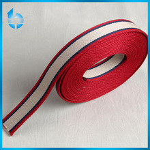 custom fashionable striped elastic webbing for sofa