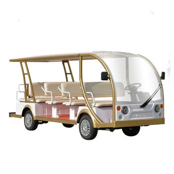 Factory direct sale good quality resort tourist electric bus