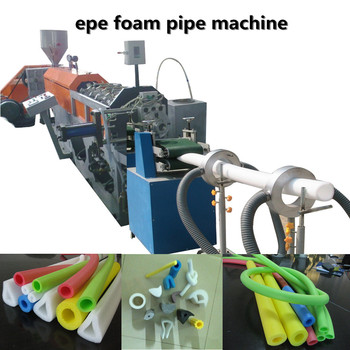 alibaba china PE Foam Pipe Machine,top quality pe foam tube/bar extruder/ EPE Foam Pipe Machine