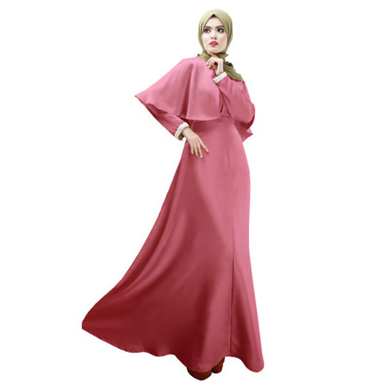 dde29e44e Nueva personalidad cabo estilo abaya turco ropa de mujer vestido musulmán  islámico de señoras de manga