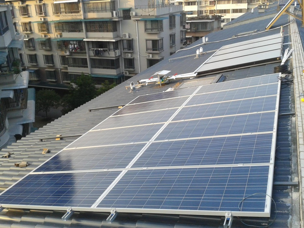 Grid Tied Solar Power System Usp Home 5kw With Solar Panel