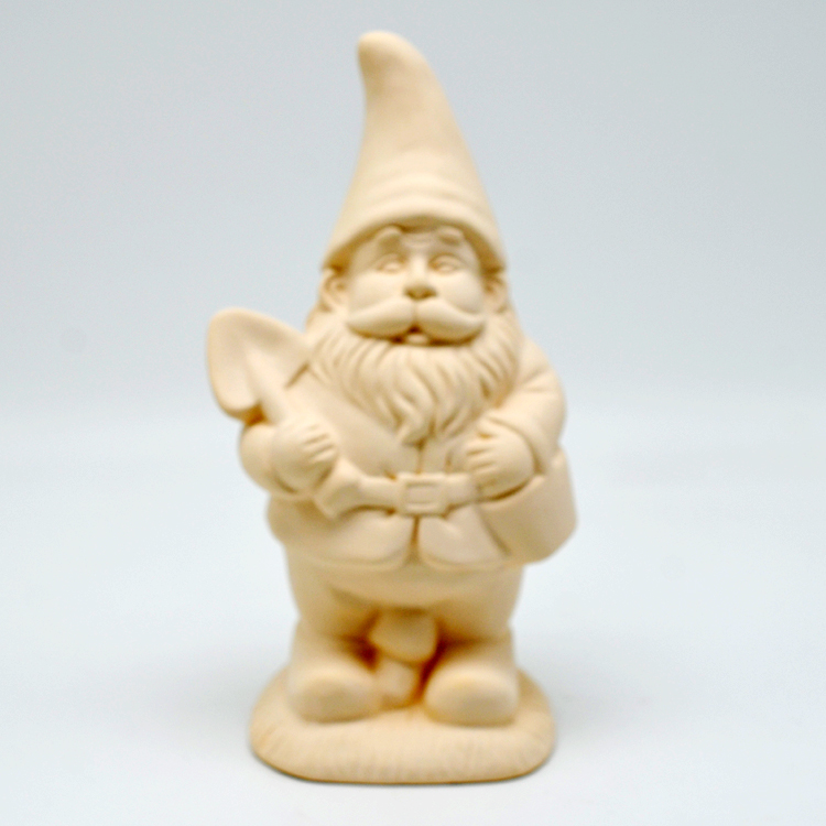 Ceramic DIY color the 7 seven dwarfs toys garden gnomes figurines statues