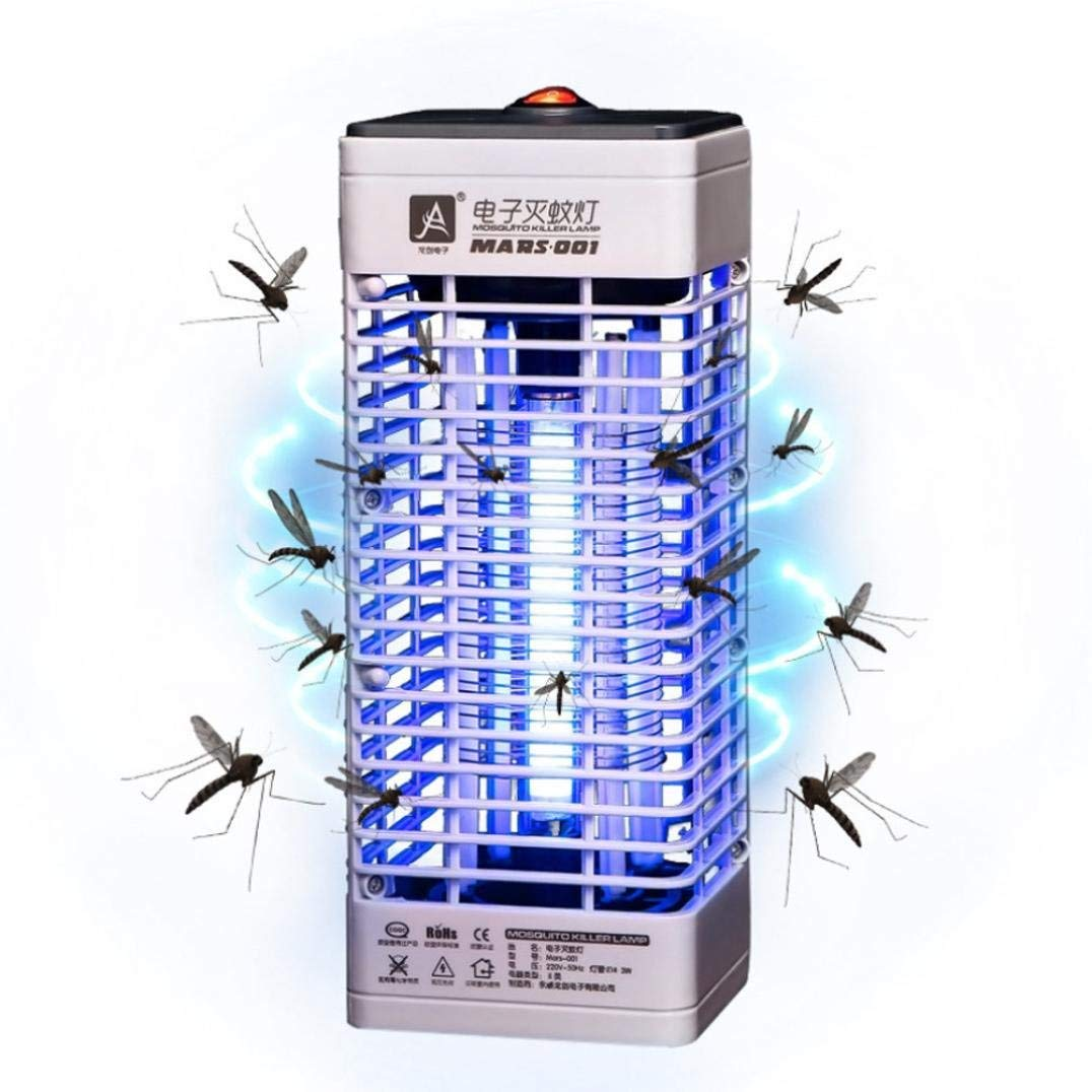 Lights & Lighting Efficient Solar Powered Buzz Uv Lamp Light Fly Insect Bug Mosquito Kill Zapper Killer Repellent Electric Trap Anti Insect Bug Wasp