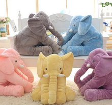 Baby's Buddy Plush Elephant Pillow