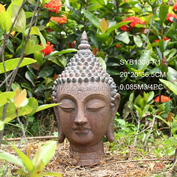 Great Modern Art Sculpture Buddha Head Garden Statue