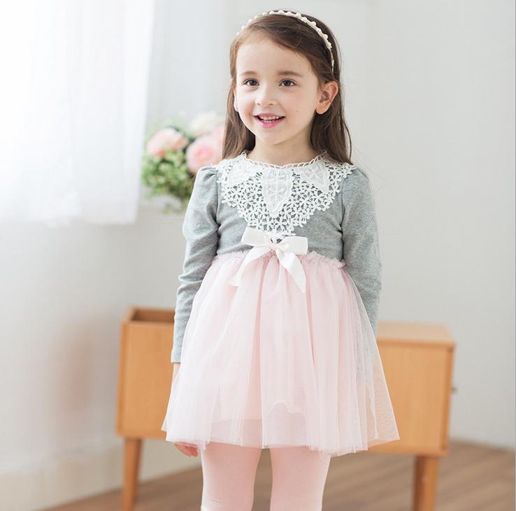D95533t Bordado De Corbatas De Lujo Vestidos Para Bebé Niña De Manga Larga Vestidos De Niña De 3 Años Vestido Buy Vestido Para Niñasvestidos Para