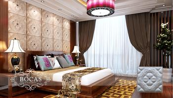 2016 Moderne Luxe Gemakkelijk Stick Pvc Plafond Ontwerpen Lijst ...