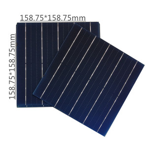 New type high efficiency solar cell 5BB right angle monocristalline solar cell 5w for solar panels.