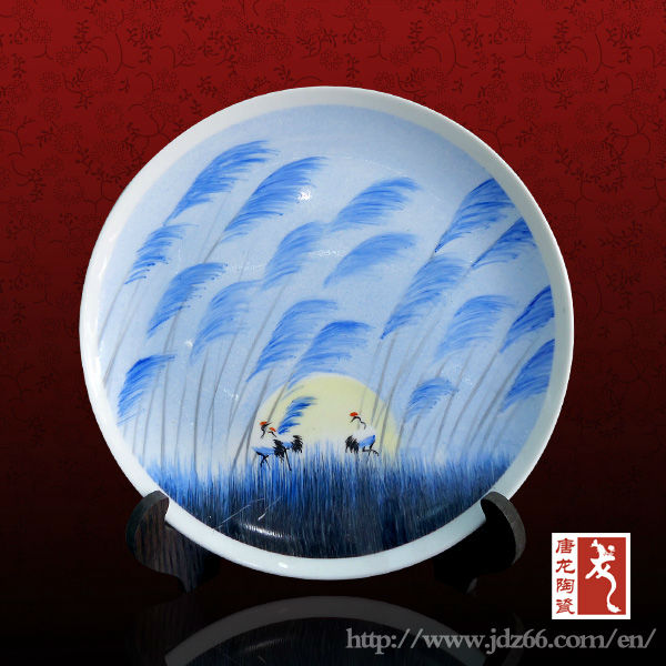 2013 new design chinese ceramic plates manufacturers good for house decoration