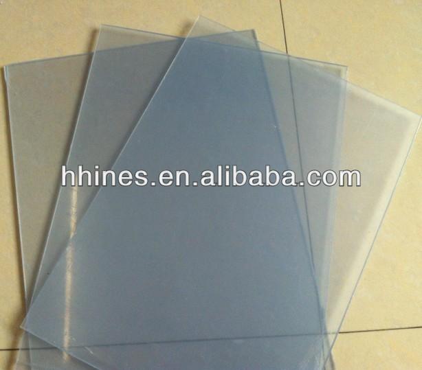 transparan pvc lembaran plastik untuk folder dan binder