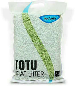 Wholesale oem high output clumping natural plant milk tofu cat litter