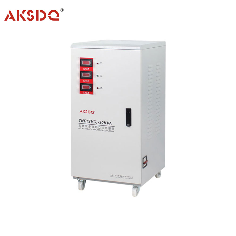 Direct Manufacturer SVC 30kva 3 Phase Servo Motor Automatic AC Voltage Stabilizer for Home