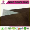 Fashionable sofa cover fabric in any color suede fabric with knit composited