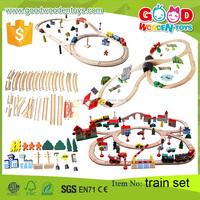 EN71 top sale toy vehicle wooden train toy OEM/ODM educational train set for children