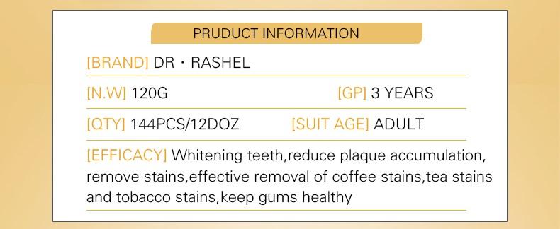 Gold Whitening Toothpaste Fresh Breath Stain Remover Brightening Teeth Dental Cream