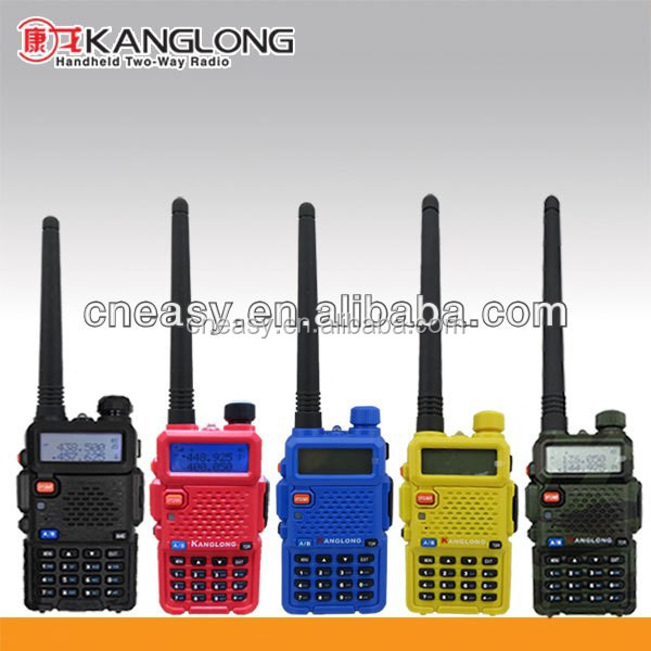 Woki toki langsung membeli Cina dengan 5 colourful & 128 channel lcd display radio