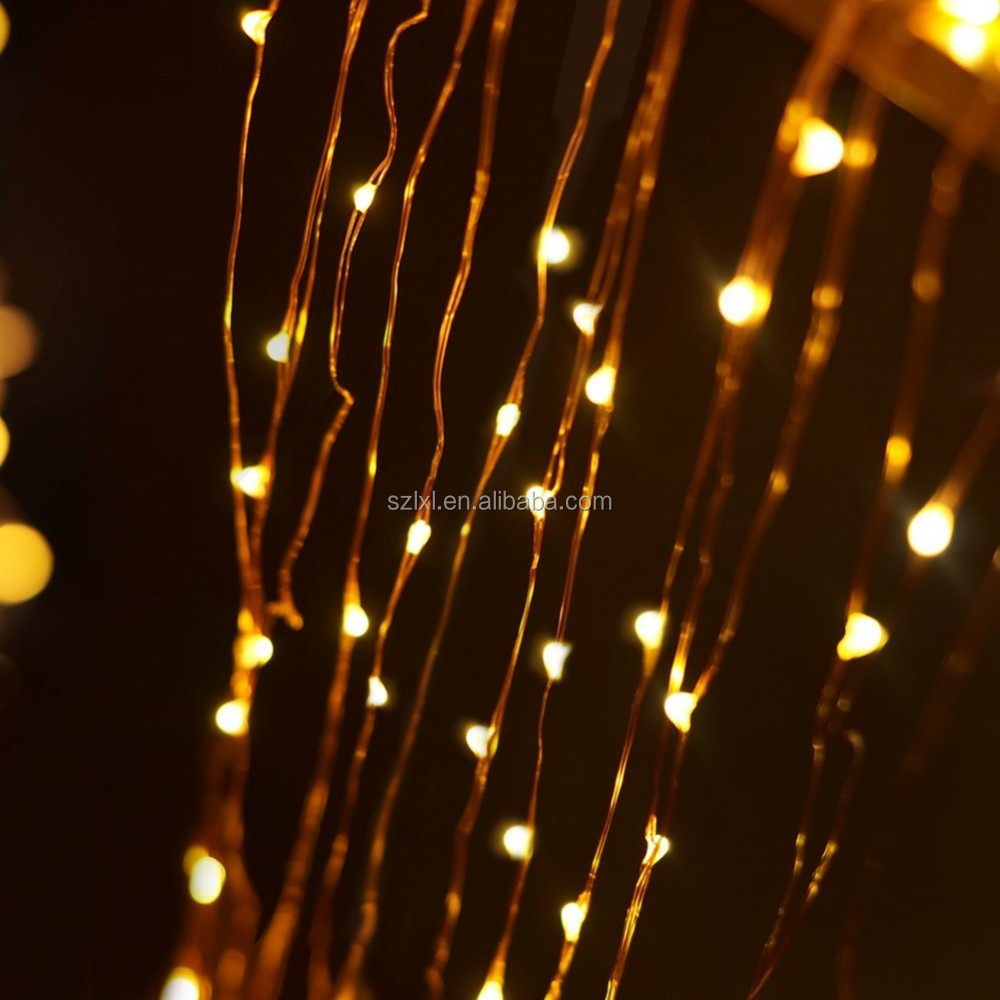 3xaa Battery Operated Copper Wire 60leds Warm White Color Led Fairy String Lights With 8 Modes ...
