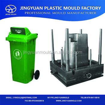 Plastic Wheelie Bin Injection Mould,120l Wheelie Bucket Mold ...