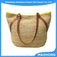 2016 Popular High Qulality Crochet Raffia Straw Bags