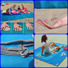 Sandless Beach Mat Easy Clean and Quick Dry Sand Free Beach Blanket/