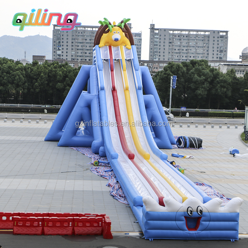 2019 New Adult Inflatable Water Slide Large Water Inflatable Hippo Slide  With Pool - Buy Inflatable Hippo Slide,Adult Inflatable Slide,Inflatable