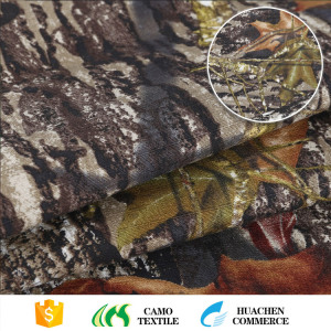 Ribstop camouflage printed 100% cotton material military camouflage fabric cotton for hunning