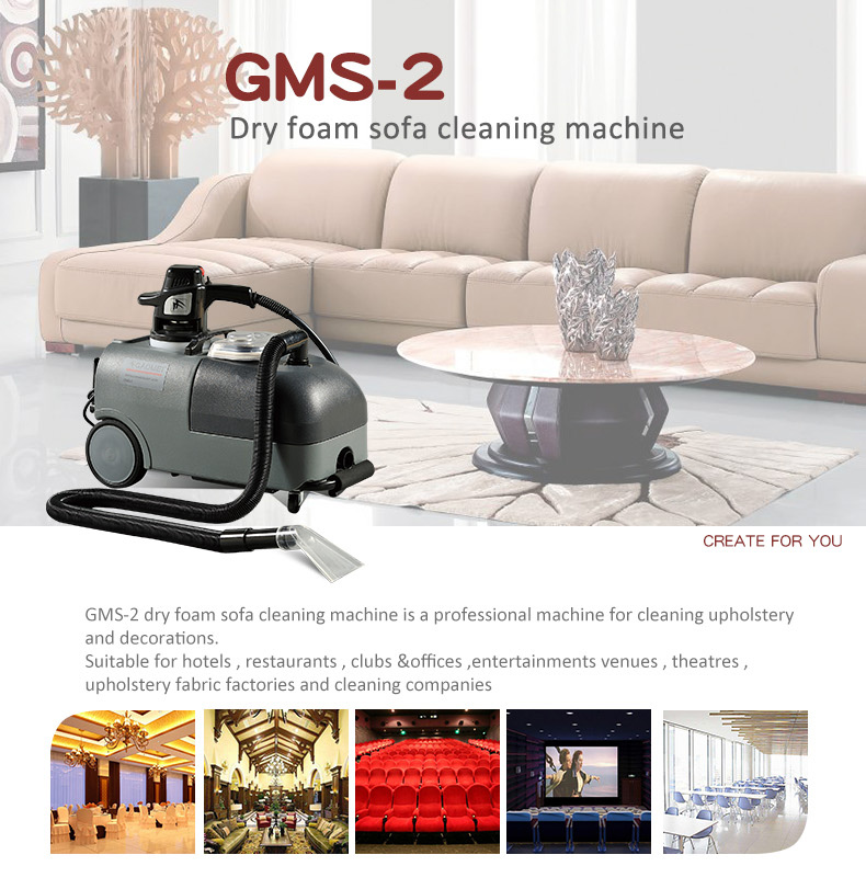 Gms 2 Low Noise Best Upholstery Cleaning Machine For Sofa And Car Washing