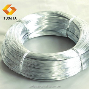 High Tension electro galvanized swg 16 gauge gi steel wire binding iron wire