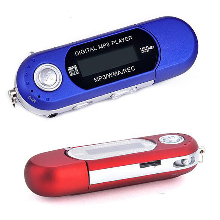 Portable USB <strong>MP3</strong> Player Digital LCD Screen Support 32GB TF Card & FM Radio