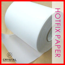 "<span class=keywords><strong>Hotfix</strong></span> Rhinestones Transfer Film <span class=keywords><strong>Tape</strong></span> Papier ijzer op 9.5 ""x 330 ft Groothandel"