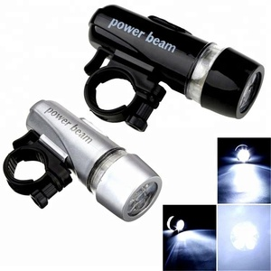 Waterproof Mountain Bicycle Accessories 5 LED Plastic Bike Front Light