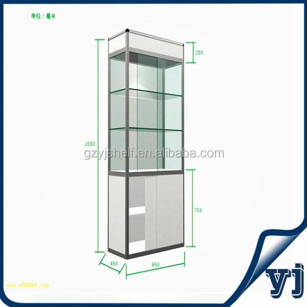 led vitrine 233 tag 232 re en verre lumi 232 re mini verre vitrine mini vitrine pour bijoux pr 233 sentoire