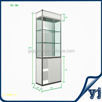 Led Showcase Glass Shelf Light/mini Glass Display Cabinet/mini ...
