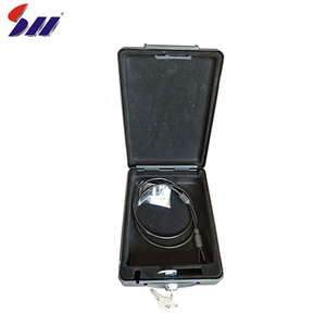 Good quality portable anti-theft steel vehicle car pistol safe with security cable