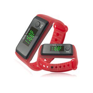 luminous wristband pedometer watch / fitness watch for children / cheap pedometers for Promotional gifts