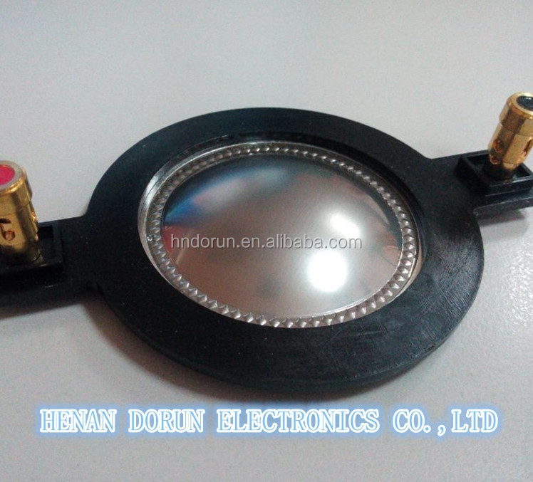 Tweeter speaker parts 8 ohm, voice coil 44mm with diaphragm,loudspeaker driver