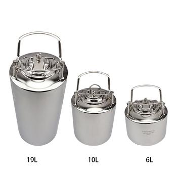 19L New Stainless steel Ball Lock Cornelius Style Beer OB