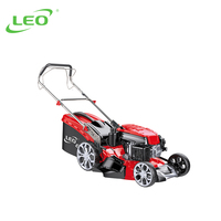 LEO LM51Z-2L Self-Propelled Grass Cutter Machine Petrol Lawn Mower