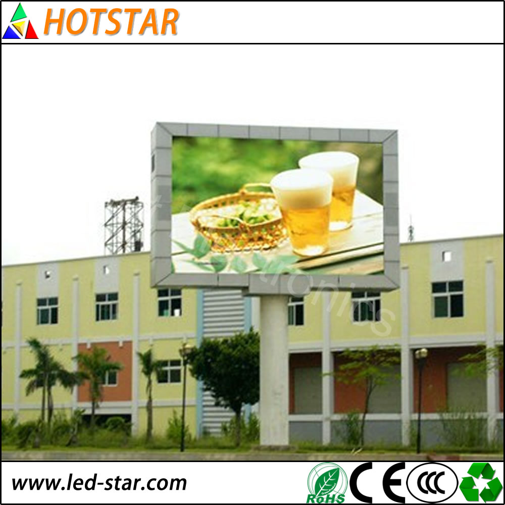 China LED Video Display Movies P10 Outdoor LED Display In Alibaba