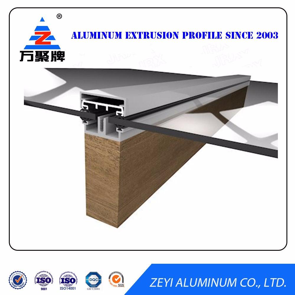 Anti Corrosive Construction Aluminium Profile For Glass