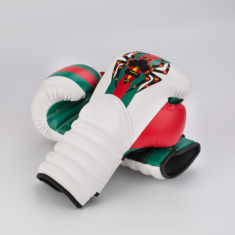 Wolon High Quality Leather Custom Designer Boxing Gloves