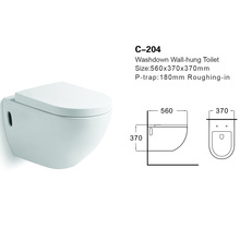 Ceeport C-204 Cheap Wall Hung Toilet Price /Bathroom Toilet Suite