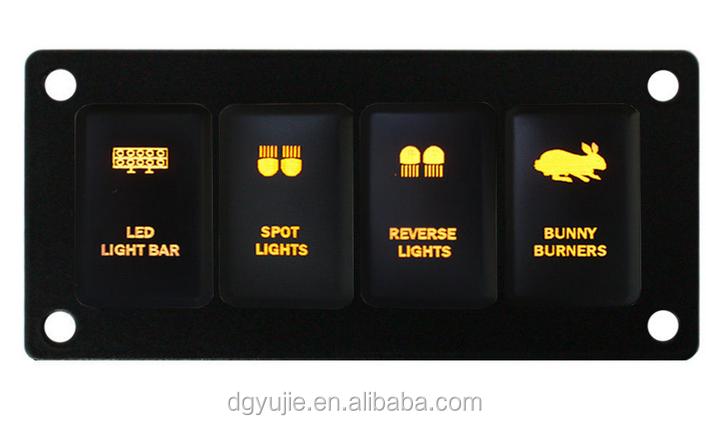 Hot! 4 Way Toyota Hilux Vigo Switch Panel & Led Light Bar Switch ...