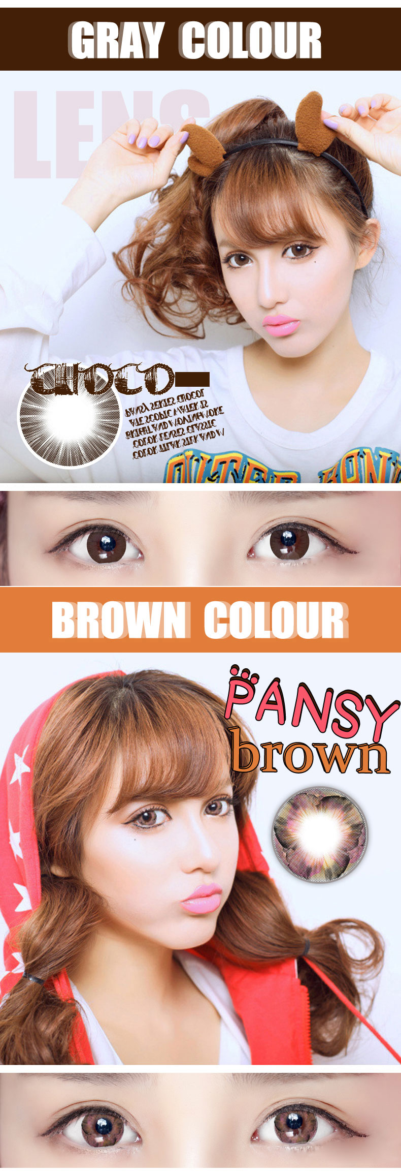 BIG DISCOUNT contact lens wholesale cosmetic colored contact lenses