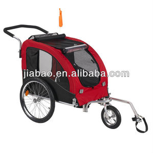 Outdoor Pet Bike Trailer for sale big room foldable bicycle pet trailer