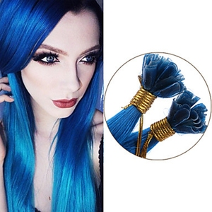 Alibaba store dark blue color weave human hair extensions kenya