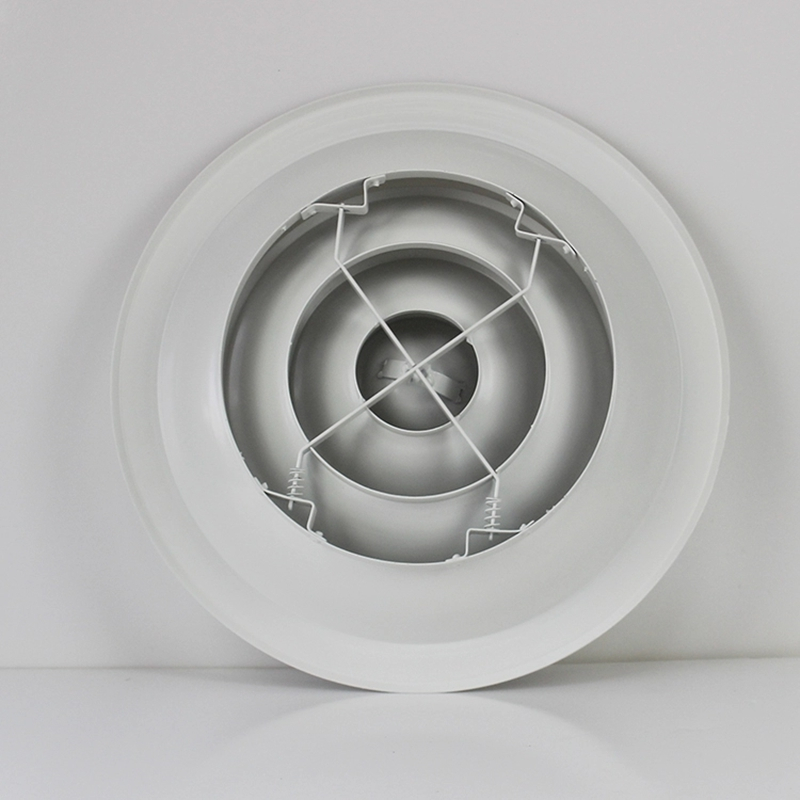 คุณภาพสูง HVAC อลูมิเนียมรอบ AC เพดาน Diffusers ชิ้นส่วน damper