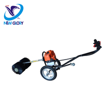 Mini Handpush Gasoline manual floor sweeper
