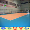 Volleyball court sports pvc flooring with uv coating