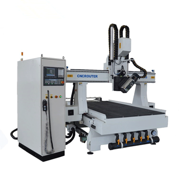 Multi Spindle CNC Router For Wood Furniture Making, 3D Sculpture CNC Router Car Number Plate Making Machine